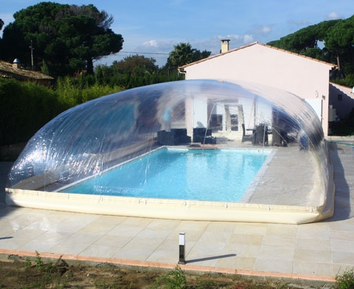 Dome gonflable pour piscine 28 images un abri for Abri piscine gonflable